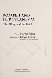 Cover of: Pompeii and Herculaneum