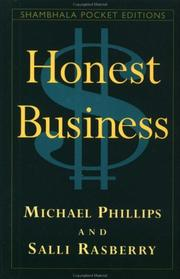 Cover of: Honest business