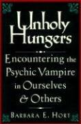 Cover of: Unholy hungers