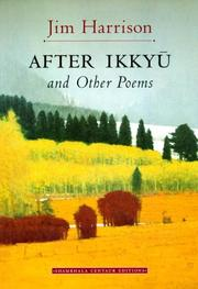 Cover of: After Ikkyū and other poems