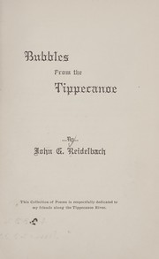 Cover of: Bubbles from the Tippecanoe