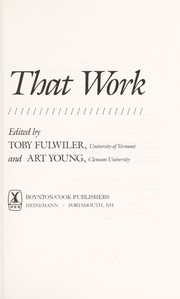 Cover of: Programs that work | edited by Toby Fulwiler and Art Young.