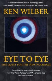 Cover of: Eye to eye