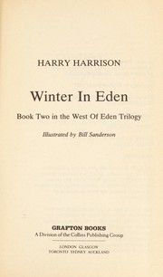 Cover of: Winter in Eden: book two in the West of Eden trilogy