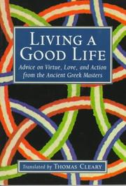 Cover of: Living a good life |