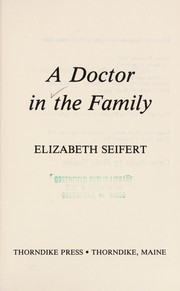 Cover of: A doctor in the family