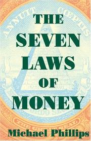 Cover of: The seven laws of money