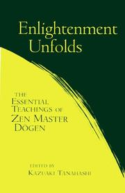 Cover of: Enlightenment Unfolds | Kazuaki Tanahashi