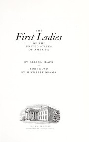 Cover of: The first ladies of the United States of America