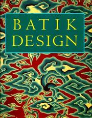 Cover of: Batik design
