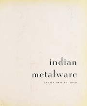 Cover of: Indian metalware