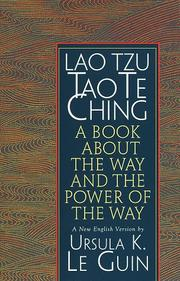 Cover of: Lao Tzu : Tao Te Ching  by Ursula K. Le Guin, Laozi