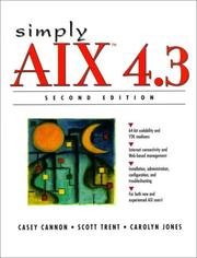 Cover of: Simply AIX 4.3