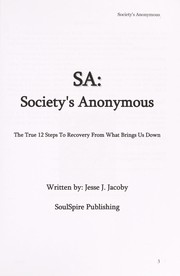 Cover of: SA | Jesse J. Jacoby