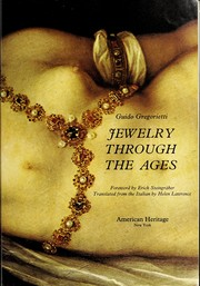 Cover of: Jewelry through the ages. | Guido Gregorietti