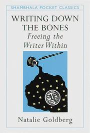 Cover of: Writing Down the Bones | Natalie Goldberg