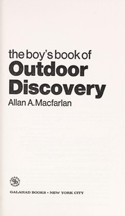 The boys book of outdoor discovery
