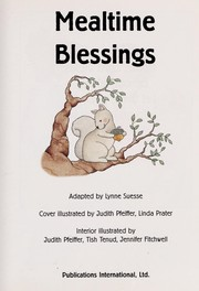 Cover of: Mealtime Blessings (Little Classics) |