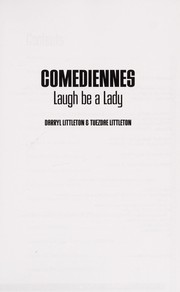 Cover of: Comediennes | Darryl Littleton