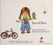 "Cover of: My ""b"" sound box"