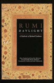 Cover of: Rumi Daylight