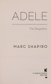 Cover of: Adele | Marc Shapiro