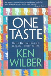 One taste by Ken Wilber