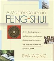 Cover of: A Master Course in Feng-Shui