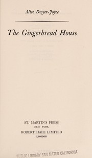 Cover of: The gingerbread house