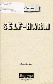Cover of: Self-harm | Cath Senker