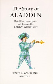 Cover of: The story of Aladdin