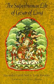 Cover of: The Superhuman Life of Gesar of Ling