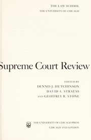 The Supreme Court Review, 1994 (Supreme Court Review)