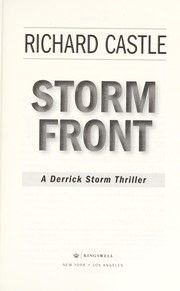 Cover of: Storm front | Richard Castle