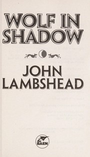 Cover of: Wolf in shadow