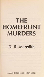 Cover of: The homefront murders