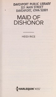 Cover of: Maid of dishonor