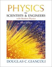 Cover of: Physics for scientists & engineers with modern physics | Douglas C. Giancoli