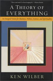 Cover of: A Theory of Everything