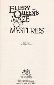Cover of: Ellery Queen's maze of mysteries | edited by Ellery Queen.