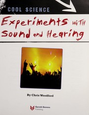 Cover of: Experiments with sound and hearing