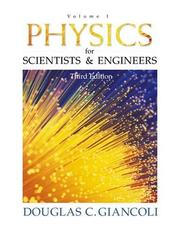 Cover of: Physics for Scientists and Engineers, Vol. 1