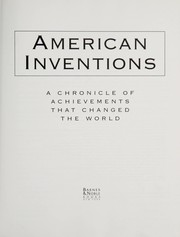 Cover of: American Inventions |