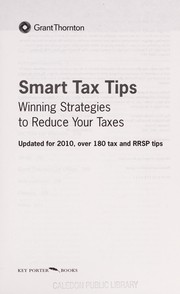 Cover of: Smart tax tips | Grant Thornton (Firm)