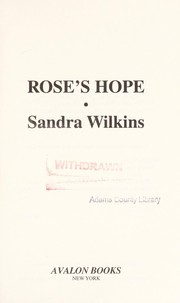 Cover of: Rose's hope