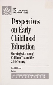 Cover of: Perspectives on Early Childhood Education