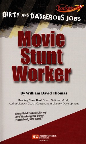 Movie stunt worker by Thomas, William