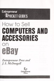 Cover of: How to sell computers and accessories on eBay | J. S. McDougall