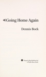 Cover of: Going home again