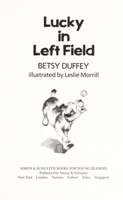 Cover of: Lucky in left field